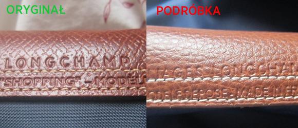 Jak rozpoznać podróbkę torebki Longchamp