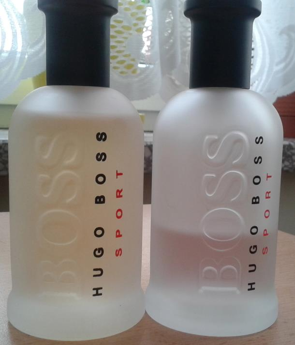 podróbka Hugo Boss Bottled Sport